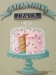 Folk Art Paintings - Orara Valley Cakes by Catherine Holman