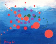 Orbs Paintings - Orbs Under Water by Rod Ismay