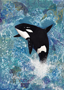 Orca Paintings - Orca by Darlene Fletcher