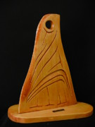 Still Life Sculptures - Orca Fin J-pod by Gerald Johnson