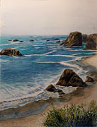 Oregon Coast Print by Carol Oberg Riley