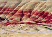 Urban Scene Art - Oregon Painted Hills by Anonymous