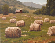 Bales Painting Originals - Oregon Rain Dance by Andrew Duclos