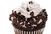 Oreo Metal Prints - Oreo Cookie Cupcake 2 Metal Print by Andee Photography