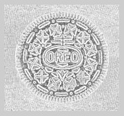 Oreo Metal Prints - OREO in GREY2 Metal Print by Rob Hans