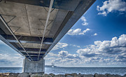 Concrete Paintings - Oresundsbron HDR by Antony McAulay