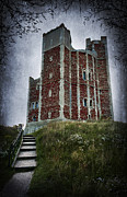 Creepy Digital Art - Orford Castle by Svetlana Sewell