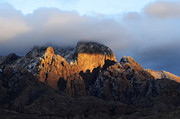 Las Cruces New Mexico Prints - Organ Mountains Sacred  Earth Print by Bob Christopher