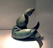 Figurative Sculpture Prints - Organic 5 Print by Flow Fitzgerald