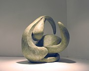 Prints Sculptures - Organic 6 by Flow Fitzgerald
