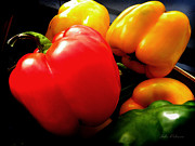 Ripe Photos - Organic Peppers by Julie Palencia