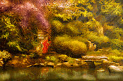 Orient - The Japanese Garden Print by Mike Savad