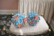 Handcrafted Art - Origami Bridesmaid Bouquets by Mike Hope