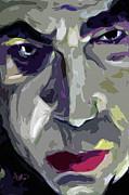 Original Abstract Art Bela Lugosi Dracula Print by Ginette Fine Art LLC Ginette Callaway