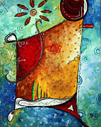 Megan Duncanson - Original Abstract Pop...