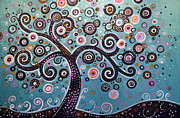 Amy Giacomelli - Original Abstract Tree...