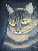Norm Starks - Original Cat Painting