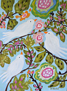 Karen Fields - Original Painting BIRD...