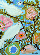 Karen Fields - Original Paintings BIRD...
