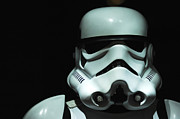 Screen Used Metal Prints - Original Stormtrooper Metal Print by Micah May