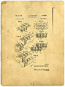Edward Fielding - Original US Patent for Lego