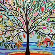 Karen Fields - ORIGINAL Waterfront Tree