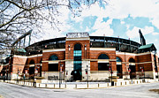 Orioles Stadium Framed Prints - Oriole Park - Camden Yards Framed Print by Bill Cannon