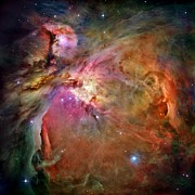 Astronauts Photos - Orion Nebula by Benjamin Yeager