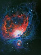 Marie Green Posters - Orion Nebula M42 Poster by Marie Green