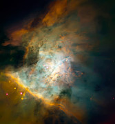Astrology Photos - Orion Nebula Mosaic  by The  Vault