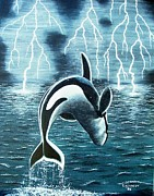 Thomas F Kennedy - Orka     Killer Whale