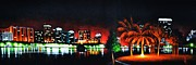 Black Light Art Painting Originals - Orlando by Thomas Kolendra
