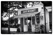 Interior Scene Metal Prints - Orleans Cafe Beignet Metal Print by John Rizzuto