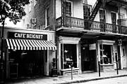 Orleans Cafe Noir Print by John Rizzuto