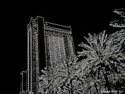 Cajun Cafe Prints - Orleans High Rise Print by Joseph Baril