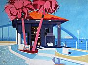 Granada Paintings - Ormond Bait Shop Florida by Lesley Giles