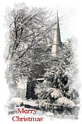 Ormskirk Christmas Card 9 Print by Liam Liberty