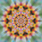 Kaleidoscope Originals - Ornament 3 by Mark Greenberg