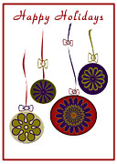 Carolyn Stagger Cokley Art - Ornament21 by Carolyn Stagger Cokley