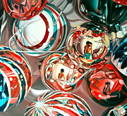 Glass Paintings - Ornaments by Anthony Mezza