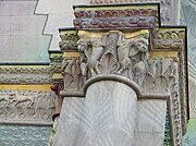 Historic Reliefs - Ornate Columns Giclee by CR Leyland
