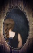 Dark Photos - Ornate Mirror by Christopher and Amanda Elwell