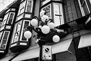 Ornate Art - ornate streetlights in historic gastown district of Vancouver BC Canada by Joe Fox