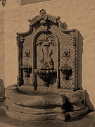 Ornate Art - Ornate Wall Fountain by Viktor Savchenko