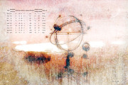 Galaxy Metal Prints - Orrery Metal Print by Bob Orsillo