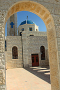 Orthodox Photo Originals - Orthodox Church Entrance by Munir Alawi