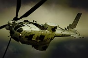 Military Aviation Art Photo Posters - Oryx Turn Poster by Paul Job