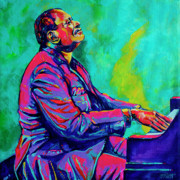 Jazz Painting Originals - Oscar by Derrick Higgins