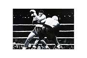 Kick Boxing Prints - Oscar Print by Mike Walrath