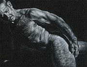 Oscuro 16 Print by Chris  Lopez